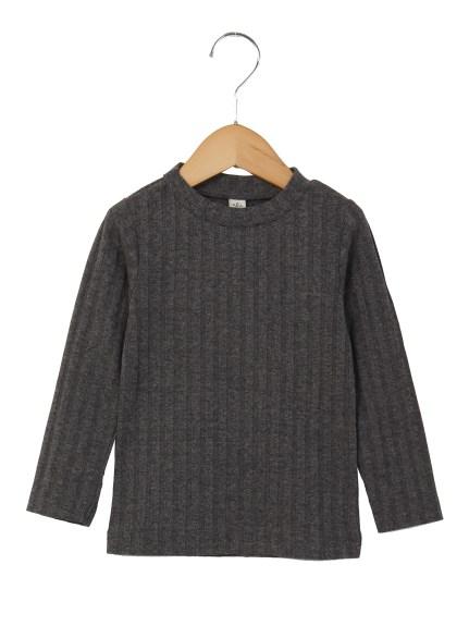 30%OFF F.O.FACTORY (エフ・オー・ファクトリー) ワイドリブTシャツ チャコール
