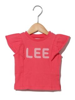 LEE袖フリルTシャツ