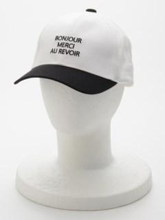 ロゴ入りキャップ帽