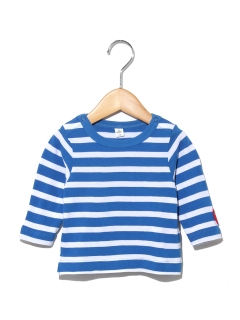 7分袖ボーダーTシャツ