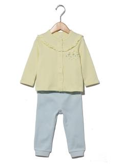 フリル前開きパジャマ