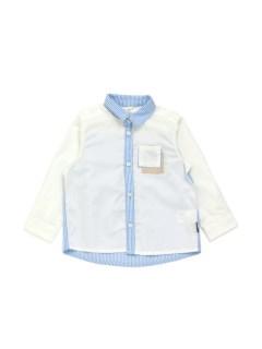 切替え長袖シャツ