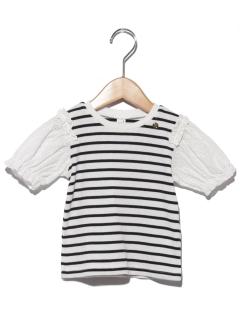 ふんわり袖Tシャツ