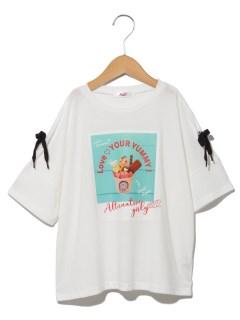 ALGYRICFコラボりぼん袖T