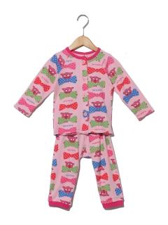 PARTYPARTYGIRLSリボン柄Pajamas