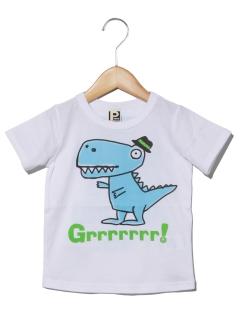 PARTYPARTYきょうりゅう半袖Tシャツ
