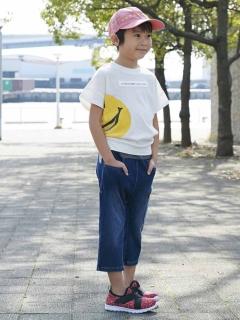 ラフシルエットTシャツ