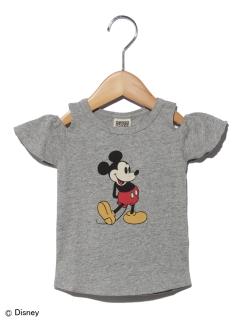 DYミッキーオフショルダーTシャツ