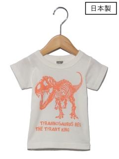 【日本製】JAPAN恐竜Tシャツ