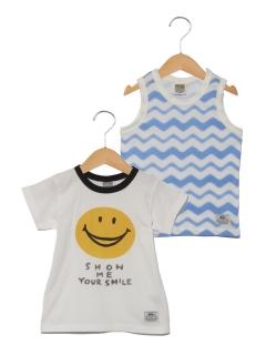 2P FOスマイルsetTシャツ