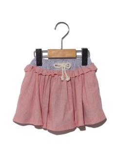 ボリュームスカートパンツ