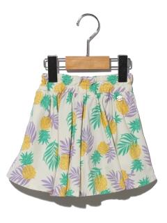 3柄スカートパンツ