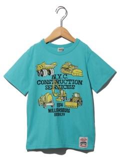 働く車プリントTシャツ