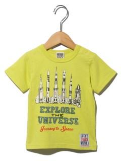 ロケットプリントTシャツ
