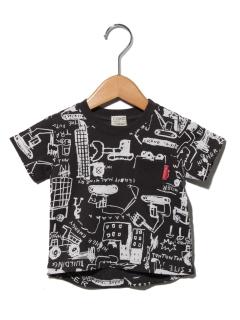 乗り物総柄Tシャツ