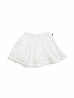 3色2柄インパンツ付きティアードスカート