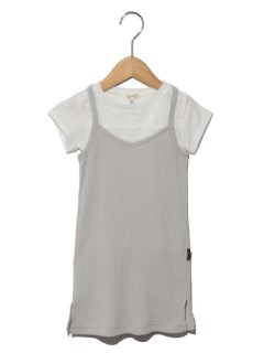 キャミワンピとTシャツの2Pセット
