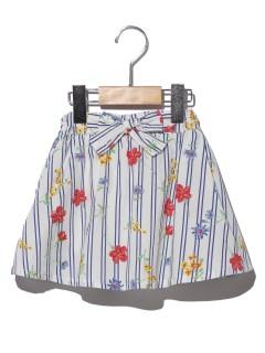 サッシュベルト風スカート