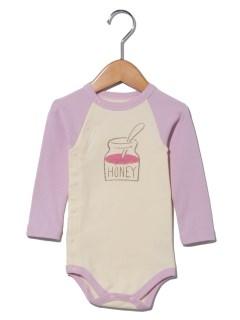 ミルク&ハニー柄ボディーシャツ