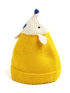 かぎ編みベビー帽子
