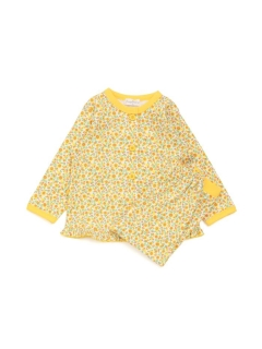 小花柄前開きパジャマ