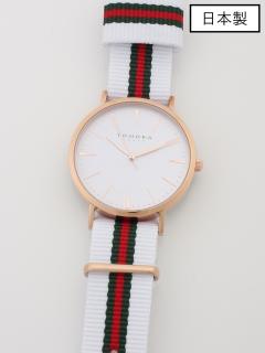 【日本製】【ユニセックス】腕時計ThreeHandsMovement
