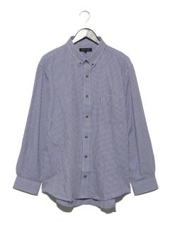 小格子ショートBDシャツ