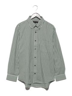 カラーギンガムBDシャツ