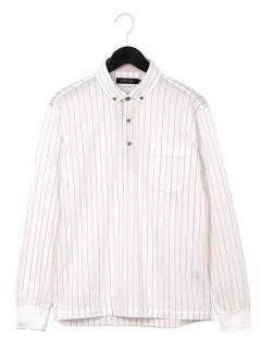 ストライプBDシャツ