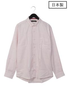 【日本製】ボタニカルオックスボタンダウンシャツ