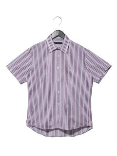 綿ポリドビーストライプRGシャツ