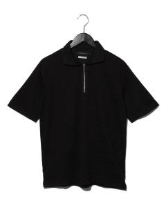 DUAL~×接触冷感パネル天竺共衿シャツ