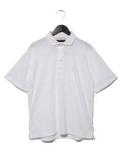 DUAL~×接触冷感格子柄鹿の子JQシャツ