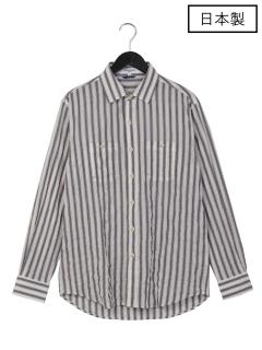 【日本製】Wポケットレギュラーシャツ