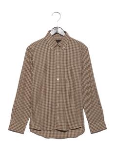 チェックBDシャツ