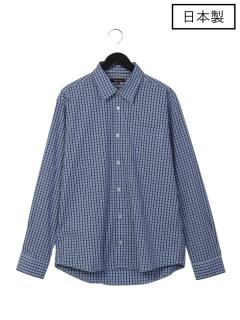 【日本製】チェックレギュラーシャツ