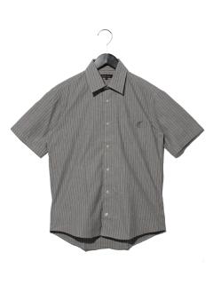ストライプ半袖レギュラーシャツ