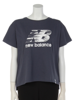 newbalance×earthロゴTシャツ