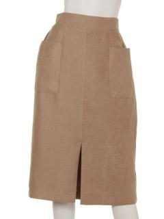 Wポケットナロースカート