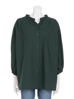 SET2点 ギャザー抜けシャツ+タンクトップ
