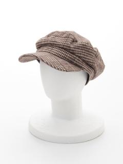 チェックマリン帽