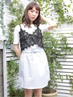 ・SET3点 ビスチェ+インナー+スカート