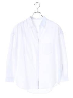 胸ポケット付きゆるシャツ
