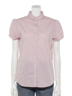 KANKO×earth パフスリーブシャツ
