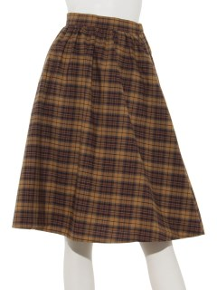 秋色ミディアムフレアスカート