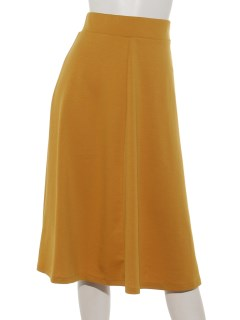 カラーポンチフレアースカート