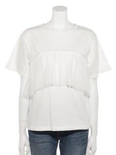 フロントチュールTシャツ