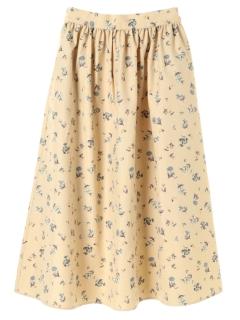 ・フラワーカラースカート