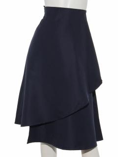 ラッフルフレアースカート
