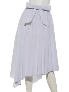 ストライプアシンメトリースカート